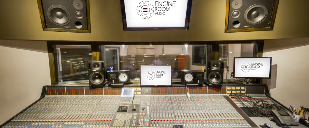 Mezzanine Studio - Engine Room Audio